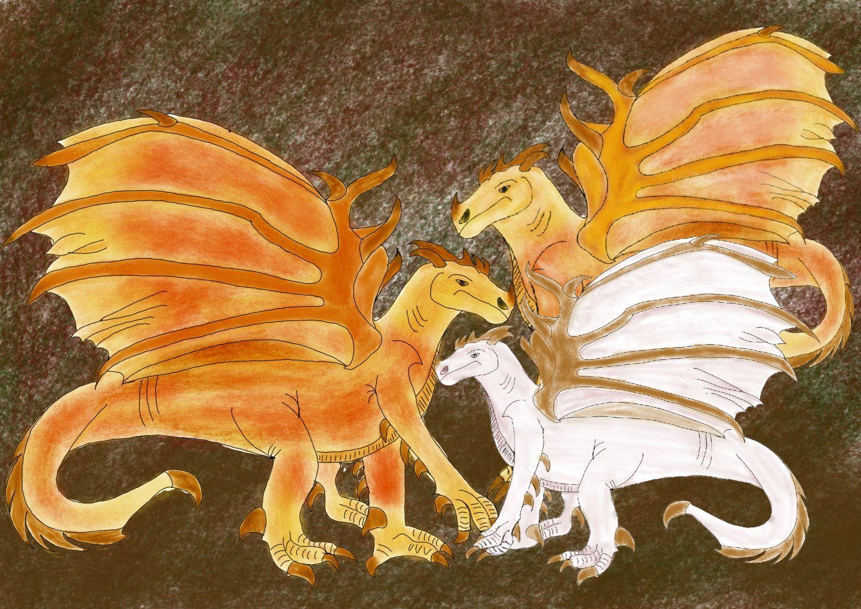 Les Dragons de l'Année perdue.