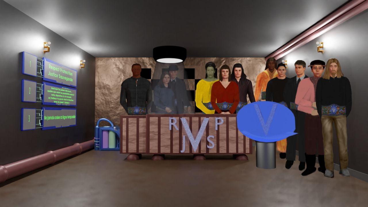 Scène finale de la nouvelle visuelle : Devenir Veilleur.