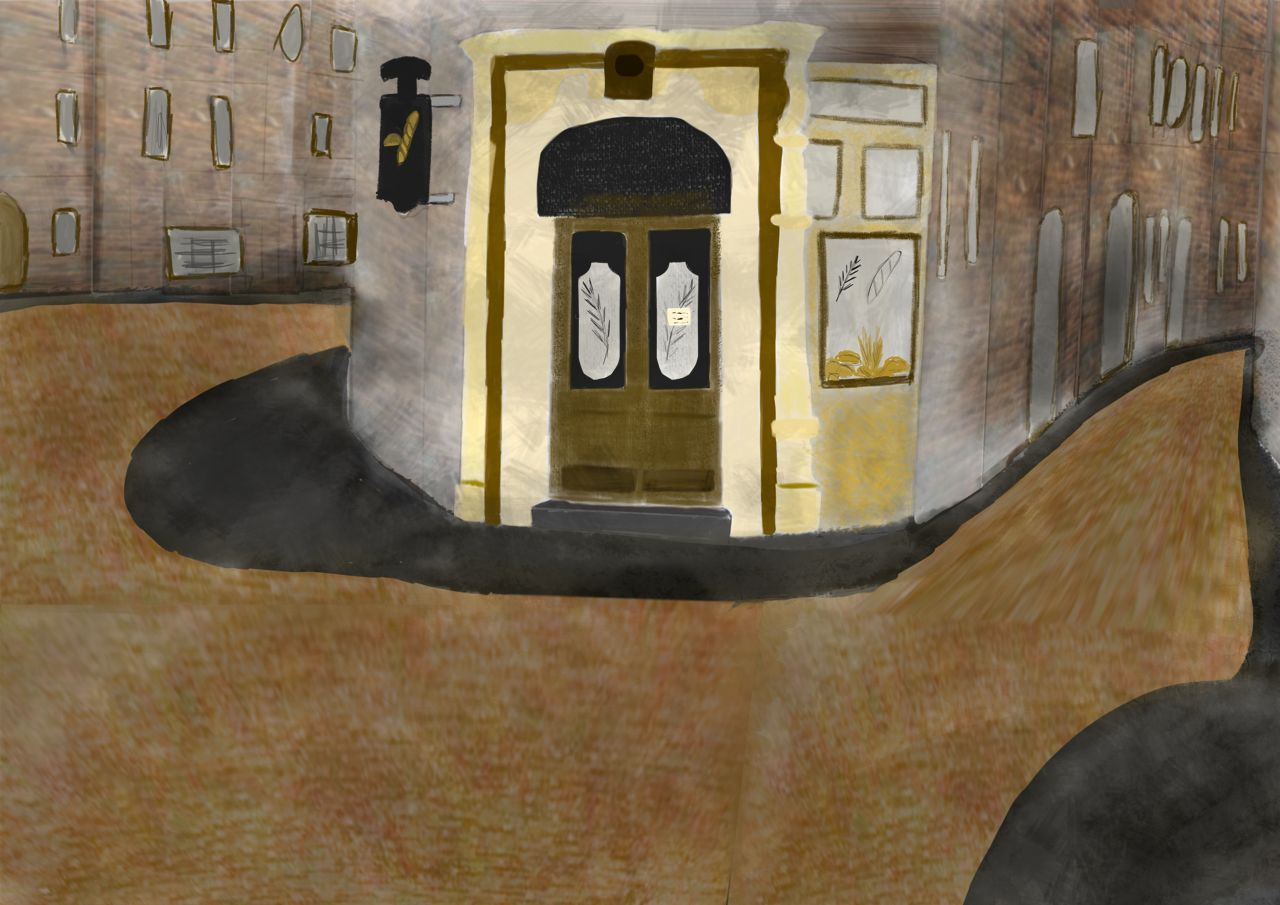 Petite rue de la nouvelle Rencontre Jack - Angus.