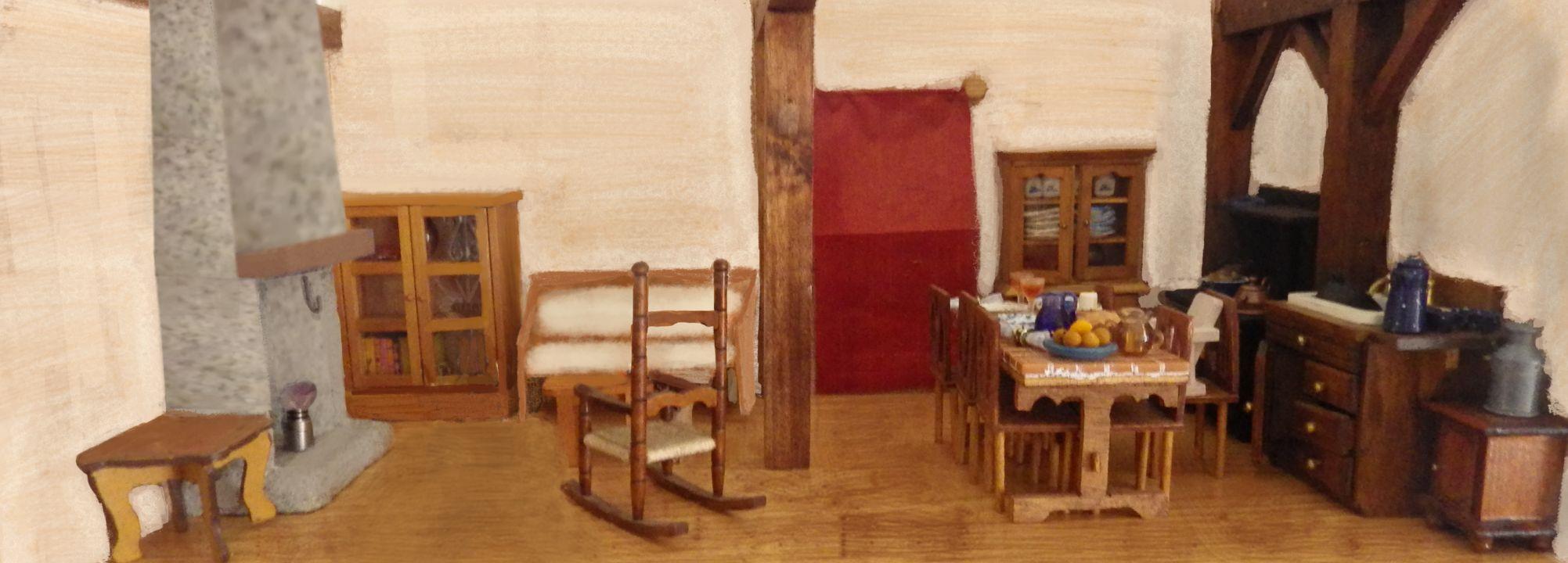 Salon Ferme Cooper au XIXe siècle.