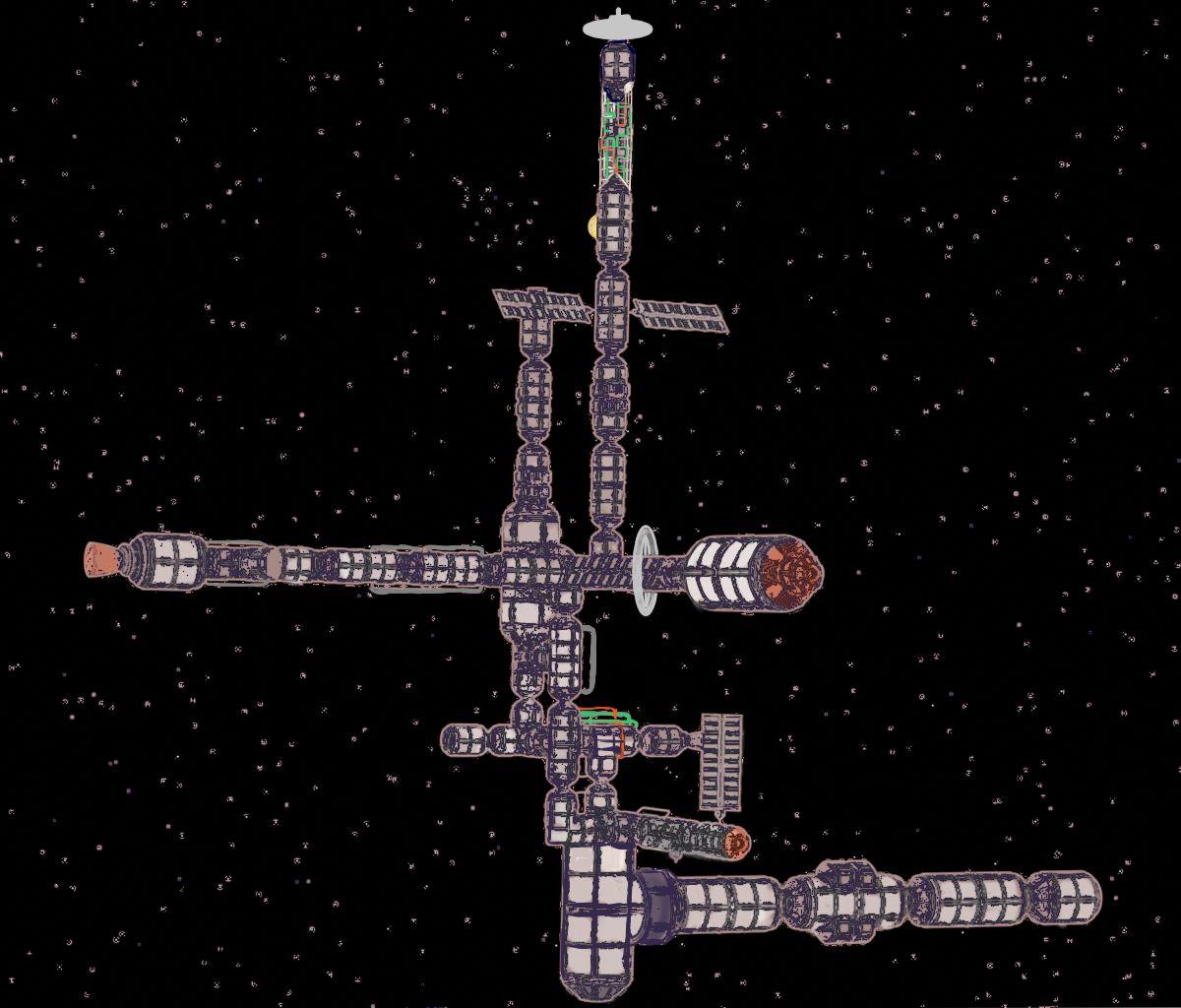 Station spatiale GS5.