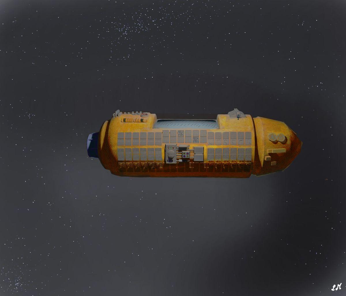 Capsule de sauvetage des vaisseaux dynartâns.