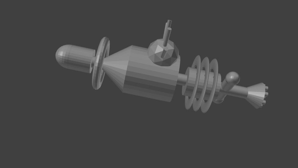 Arche de sauvetage - modèle 3D