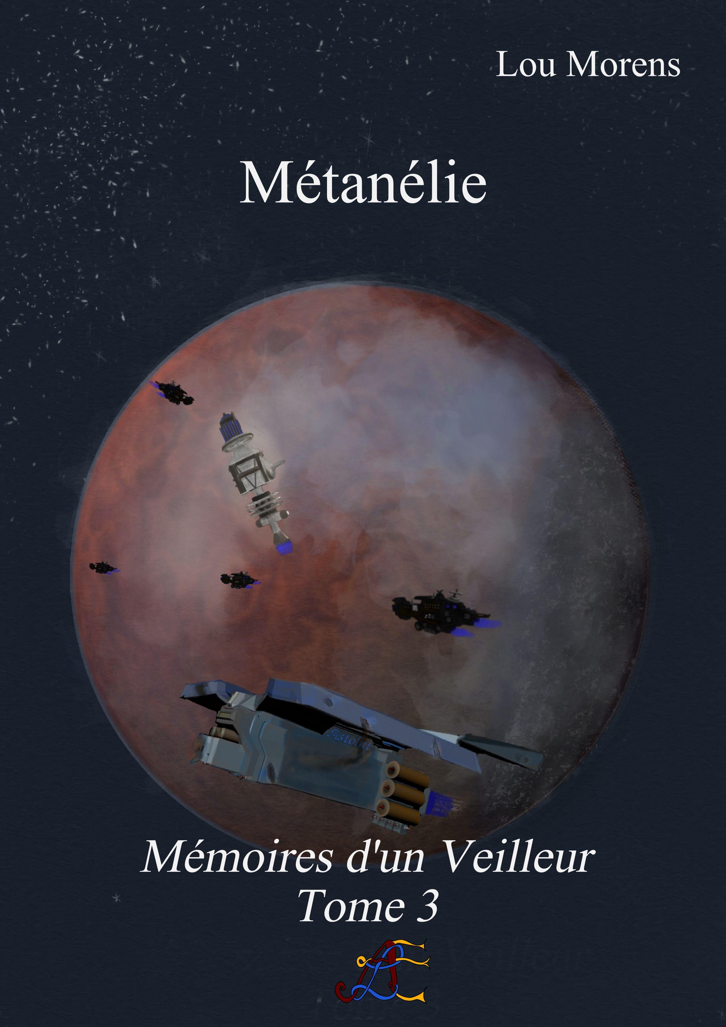Volume 3 - Métanelie cover