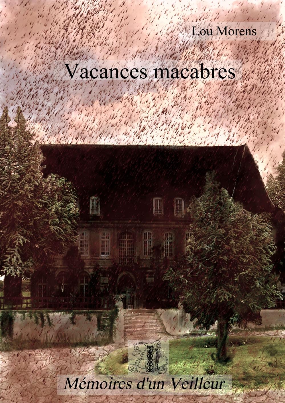 Vacances macabres cover